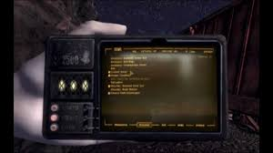 Fallout New Vegas Pip Boy Light A Familiar Friend Pip Boy 2500 Handheld Pipboy At