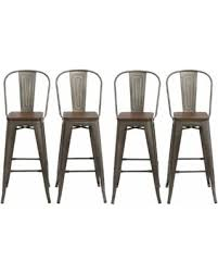 set of 4 bar stools. 30\ Set Of 4 Bar Stools