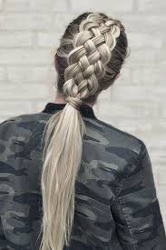 Best 25 Pony Tail Braids Ideas On Pinterest Easy Hair Up Gym