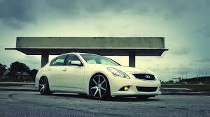 infiniti g37 white with black rims. infiniti g37 sedan on 20 white with black rims o