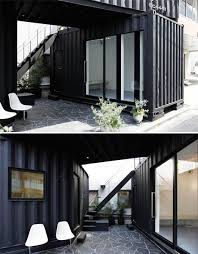 container office design. tokyo stack two shipping and delivery containers generate corner business office container design