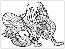Realistic Dragon Coloring Pages Real Dragon Coloring Pages Patterns