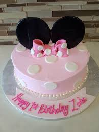 Minnie Mouse First Birthday Cake Topper Near Me Mickey And Toppers