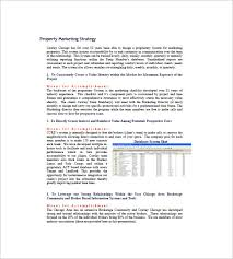 commercial real estate marketing plan