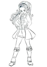 Free Printable Descendants Coloring Pages Fresh Descendants 2