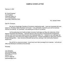 Summer Internship Cover Letter Sample Cover Letter For Summer