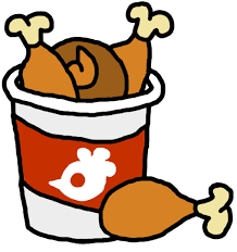 bucket of fried chicken clipart. Svg Free Library Drawing At Getdrawings Com For Personal Png Transparent Stock Bucket Of Fried Chicken Clipart On