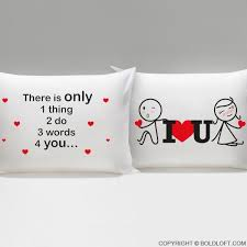 3 Words for You Couple Pillowcases