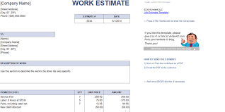Estimates Templates Free Every Free Estimate Template You Need The 14 Best Templates