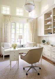 elegant home office. This Elegant Cream Colored Home Office Is Large And Open, Makes You Feel Quite Peaceful Due To The Almost Monochromatic Design. N