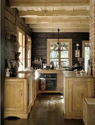 Image Kitchens Ideas Rustic Retreat Small Rustic Cabin Kitchen Log Homes Cabin Plan Ideas Small Rustic Cabin Kitchens The Image Best Cabinet Color For Small