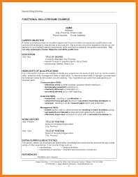 Skills Section Of Resume Sop Proposal