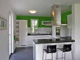 White Gloss Kitchen Designs Open Kitchen Design With White Gloss Cabinet And Led Lighting Also