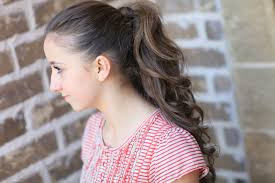 Pretty Girl Hair Style how to get the perfect ponytail hairstyle tips cute girls 4776 by wearticles.com