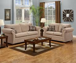 Taupe Living Room Furniture 2255 Simmons Victory Lane Taupe Sofa And Loveseat Couches
