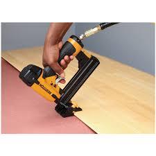 narrow crown flooring pneumatic stapler