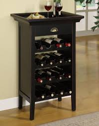 powell contemporary black wine cabinet item number 502426 black wine cabinet m97
