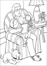 Small Picture Reading Before Sleeping coloring page Free Printable Coloring Pages
