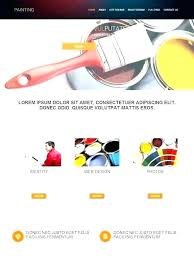Gallery Template Free Download Painting Website Templates