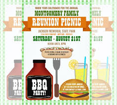 Family Reunion Flyer Template 34 Family Reunion Invitation Template