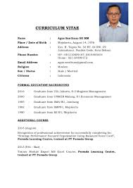 Personal Resume Resume Personal Background Therpgmovie 62