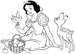 Disney Princess Snow White Coloring Pages Baby Snow White Coloring