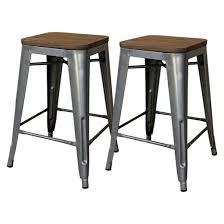 furniture bar. hampden industrial wood top 24\ furniture bar