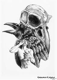 Crow Tattoo Photo Num 3141