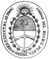 ilustración Histórica Argentina: Evolución del Escudo y Sello de las Provincias Unidas del Río de la Plata, República Argentina y Confederación Argentina