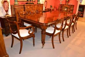 regency dining table c english 10 d chairs 1 outstanding