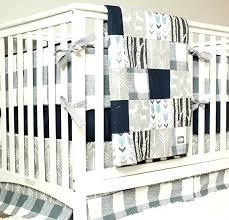 woodland nursery bedding set deer crib navy blue baby boy themes sets target