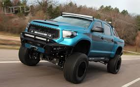 toyota trucks 2014 lifted. Interesting Lifted Mean Looking Offroad Toyota Tundra Lifted Barred Lighting Decalu0027d Throughout Trucks 2014 Lifted
