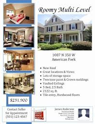 Microsoft Real Estate Flyer Templates Real Estate Flyer Template Fresh Real Estate Flyer Templates