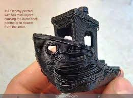Image result for poor quality  3d print