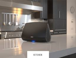 wireless home sound system. heos 5 in kitchen wireless home sound system e