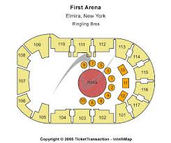 Elmira Enforcers Seating Chart First Arena Seating Chart