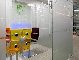 freestanding glass walls partitions