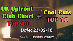 Uk Club Chart Top 40 Cool Cuts 23 02 2018