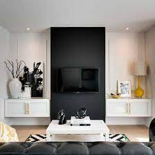 In your bedroom layout, set aside a special place for your bedroom tv. Elegant Contemporary And Creative Tv Wall Design Ideas