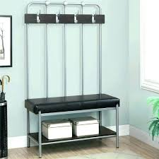 Metal Entryway Bench With Coat Rack Adorable Foyer Bench Awesome Shoe And Coat Storage Metal Entryway Bench With