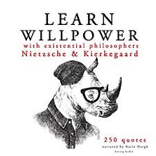 Willpower Quotes Extraordinary Amazon Learn Willpower With Existential Philosophers Nietzsche