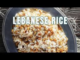 Masala rice or spiced riceveg recipes of india. Best Lebanese Rice With Vermicelli And Pine Nuts The Mediterranean Dish Youtube