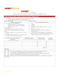Financial Template For Excel Financial Assistance Form Template Investment Form Template Capital