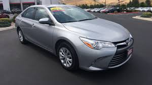 toyota camry 2016 le. used certified oneowner 2016 toyota camry le carson city nv campagni auto group le