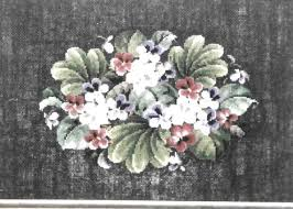 The Classic Stitch Violets Sharon Summers Counted Cross Stitch   Etsy