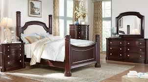 cherry mahogany bedroom furniture.  Cherry Dark Wood King Bedroom Sets Cherry Espresso Mahogany Brown Etc  159500 At Rooms To Go Sf And Cherry Mahogany Furniture O