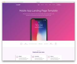 Free Web Application Design Templates Top 61 Free Bootstrap Landing Page Templates 2020 Website