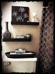Different Ways Of Decorating A Bathroom Toilet Bowl And Small Spaces - Modern bathroom shelving