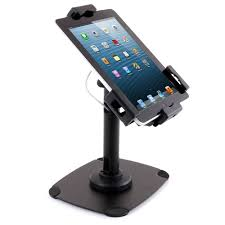 Ipad Display Stand Secure Universal Tablet Counter Top Display Stand with Base FOREST AV 2