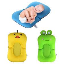 frog duck foldable baby bath tub bathtub pad chair shelf newborn baby bath seat infant bathtub support blooming mat baby tubs baby tubs frog duck